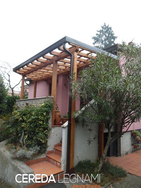 tettoia terrazzo tettoia su terrazzo cereda legnami agrate brianza