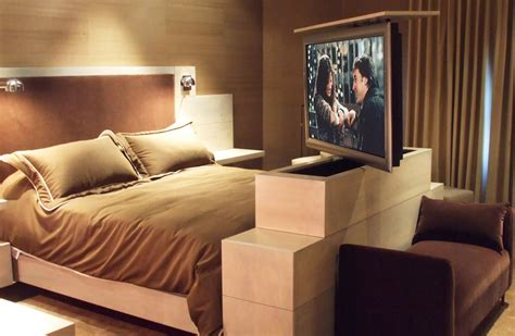 bedroom tv cabinet hidden motorized electronics 6 ways to show off your home tech
