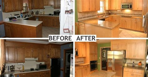 u shaped kitchen remodel ideas u shaped kitchen remodel before and after