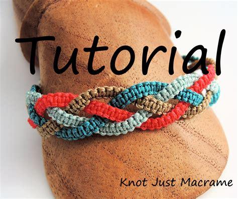 Make Macram Cord Bracelet Patterns Home - micro macrame tutorial braids bracelet pattern diy