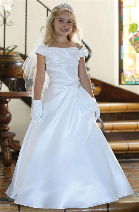 agdr girls dress style dr white  satin cap