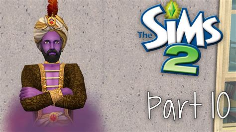 Sims 2 Genie L by Let S Play The Sims 2 Part 10 The Genie
