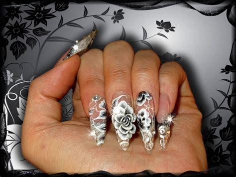 ongle en gel noir et blanc ongles en gel noir et blanc fashion designs