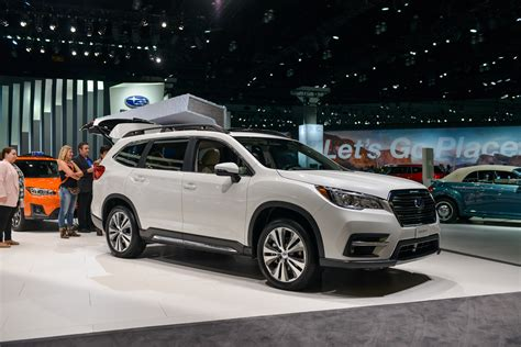 2019 Subaru Ascent by New 2019 Subaru Ascent Will Climb Family Crossover Mountain