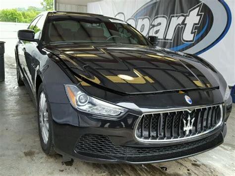 auto bid auction 2014 maserati ghibli 3 0l 6 for sale at copart auto