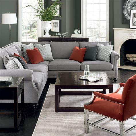 gray living room furniture ideas pinterest nadinevoikos bernhardt living room in grey
