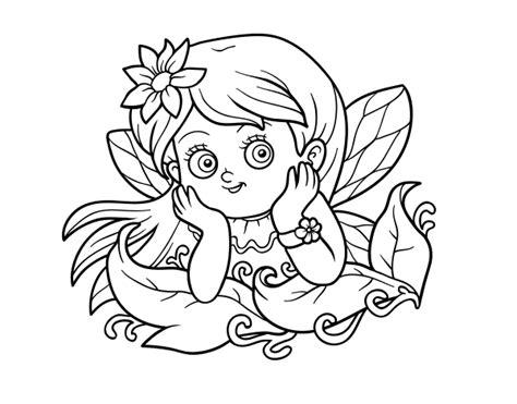 imagenes bonitas navideñas para dibujar dibujo de hada bonita para colorear dibujos net