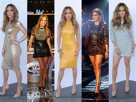 jennifer lopez looks different on idol mejores looks de jennifer lopez en american idol actitudfem