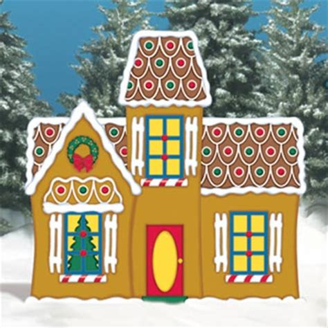 gingerbread manor holiday woodworking plans  fun yard