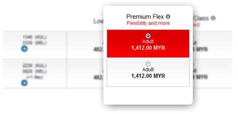 Airasia Upgrade To Premium Flex | premium flex airasia