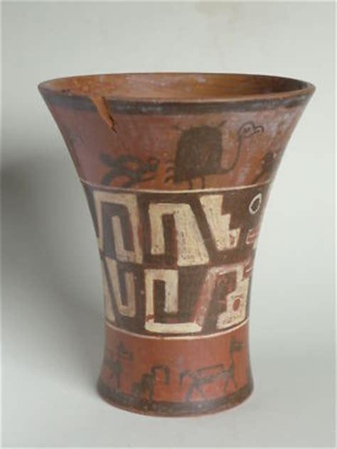 Crown Ducal Vase Pre Columbian Kero Tiahuanaco Antique Price Guide