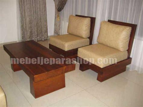 Kursi Tamu Kayu Biasa kursi tamu balok mjs furniture