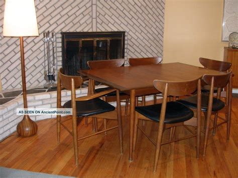 Mid Century Dining Room Furniture by Mid Century Modern Dining Room Sets Large And Beautiful