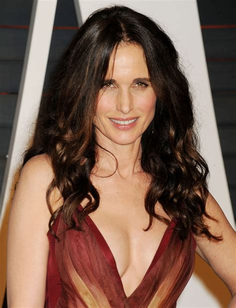 andi macdowell pictures and photos andie macdowell 2015 vanity fair oscar party in hollywood