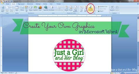 design banner using microsoft word create your own graphics in microsoft word