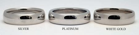 is it white gold or platinum can you tell the difference