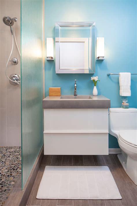 Chic kohler santa rosa in bathroom contemporary with river rock tile next to ikea godmorgon