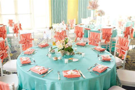 teal and colors the chiavari chairs with chair tie weddings at pink shell