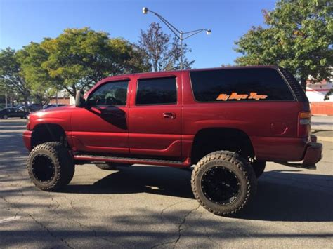 2002 gmc 1500 lifted 2002 gmc yukon 4dr 1500 4wd lifted for sale