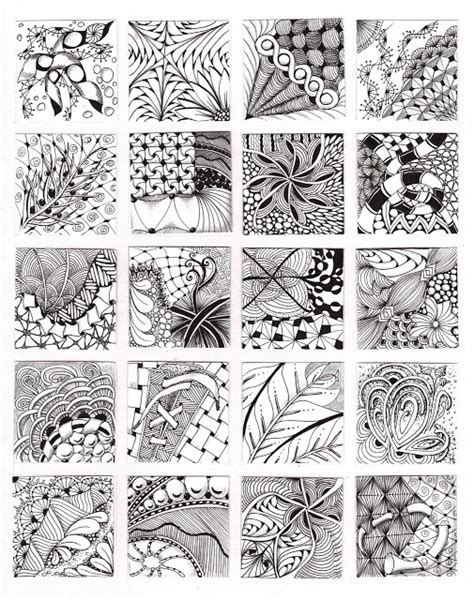 zentangle doodle ideas patterns and ideas zentangles and doodles