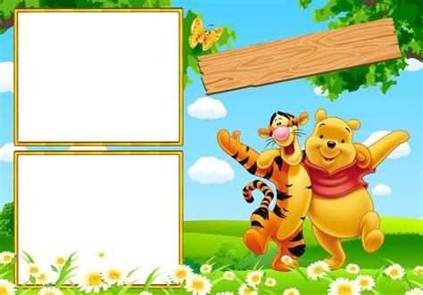 imagenes de winnie pooh para cumpleaños marcos para photoshop y algo mas winnie pooh winnie the