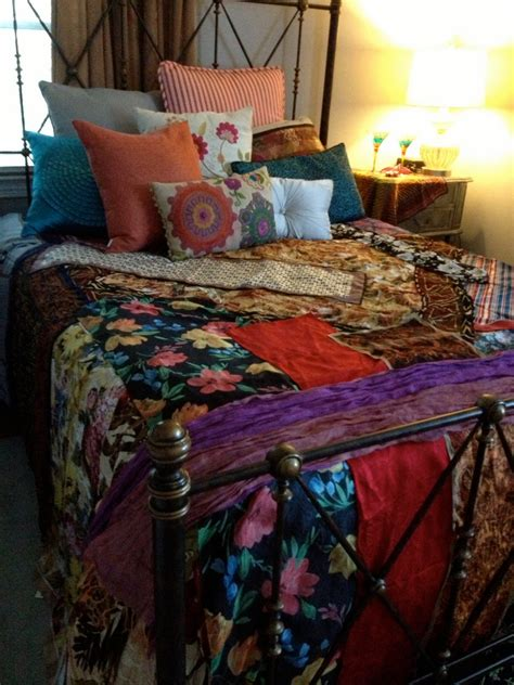 Boho Bed Sheets by Boho Bedspread Bedding Blanket Bohemian