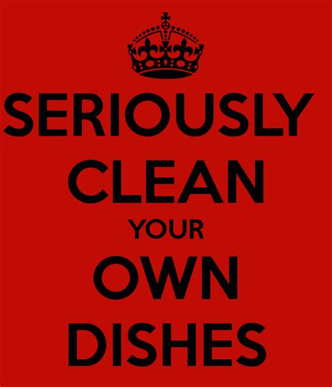 wash your own wash your own dishes images
