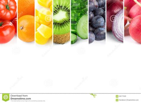 fresh colors fresh color fruits and vegetables stock image image