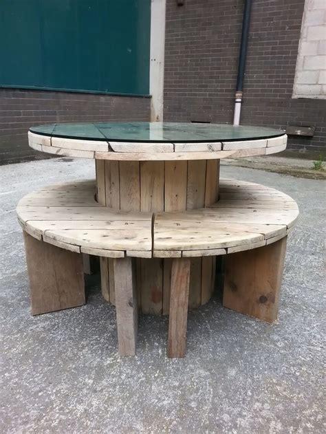 Table En Bobine De Cable by Les 25 Meilleures Id 233 Es Concernant Tables De Bobine De Fil