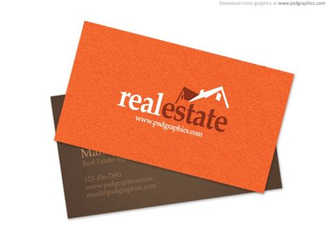 real estate business card template psd real estate business card psd file free