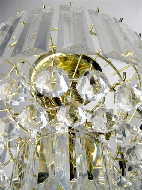 Modern Acrylic Chandelier Mid Century Modern Lucite Chandelier At 1stdibs