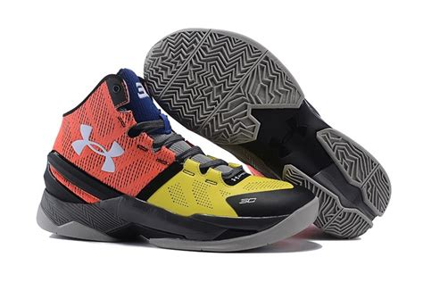 armour basketball shoes orange s armour stephen curry two signature mid