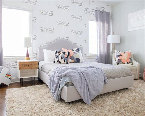 lilac bedroom decor girls rooms lilac and gray abstract art design ideas