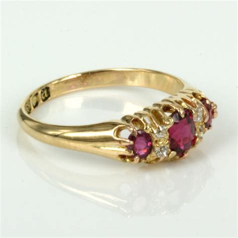 Item Ruby buy antique ruby and ring made in 1896 sold items