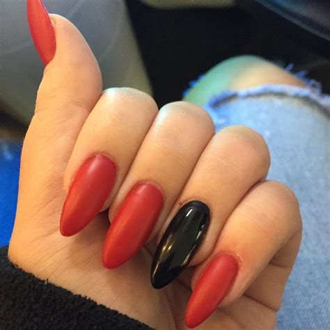 One Black Fingernail | red and black nail designs www imgkid com the image