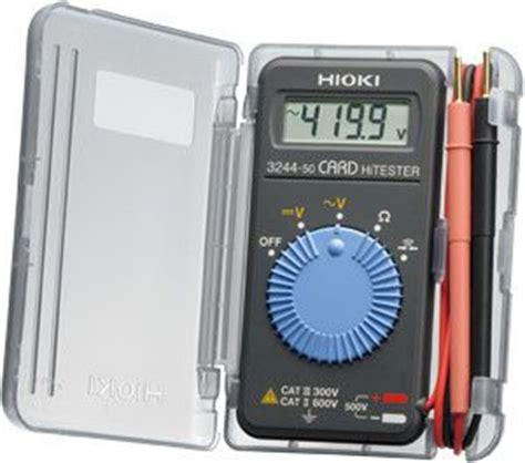 Multitester Digital Hioki 日置電機カードハイテスタ3244 60の格安販売 株式会社佐藤商事