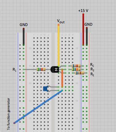 transistor lifier breadboard voltage lifier building the circuit