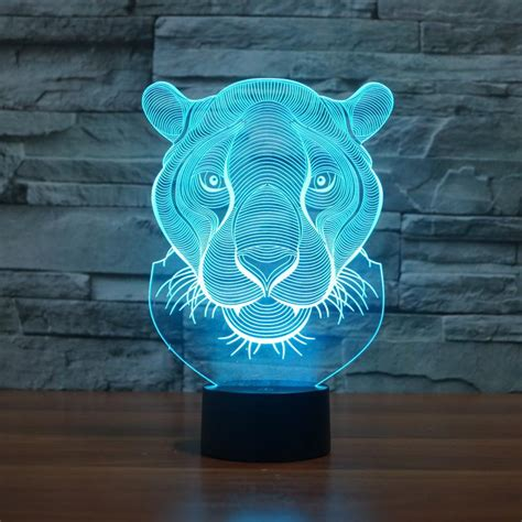 Lu 3d Led Transparan 7 Color 3d glow led l 7 colors lighting effects and 3d gift lu qing wen