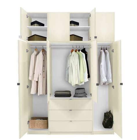 Closet Packages Alta Taller Armoire Plus Closet Package Contempo Space