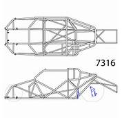 Double Framerails Like Shown In This Drawing Of A 55 57 Chevy