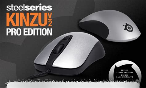 Mouse Gaming Kinzu V2 Pro steelseries kinzu v2 pro edition gaming mouse review hardwareheaven comhardwareheaven