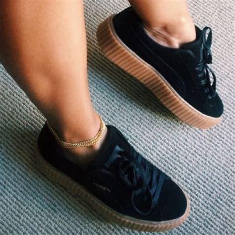 Shoes Rihana 17 best images about pumas noirs rihanna baskets et