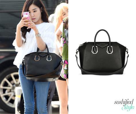 Yoona Satchel Small Black soshified styling givenchy