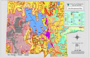 Blm Land Map Utah by Fire Management Plan