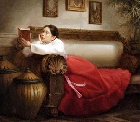 paint reader 10 best images about a woman women reading book s on