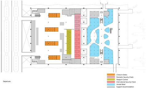 airport terminal floor plan gallery of pulkovo international airport grimshaw
