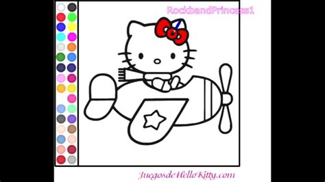 hello kitty coloring pages youtube hello kitty online games hello kitty coloring game youtube