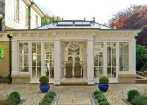 Flat Roof Sunroom Formal Orangery Victorian Exterior Other Metro By