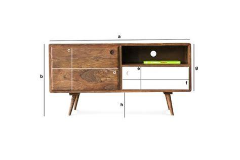 meuble tv scandinave 1969 meuble t 233 l 233 de style r 233 tro pib