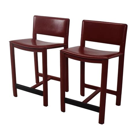 Room Stools by 67 Room And Board Room Board Sava Leather Bar
